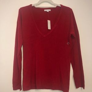 New York & Co Red Sweater (Never Worn)
